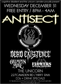 Antisect_Unicorn_NYE_2014 _Poster_Small